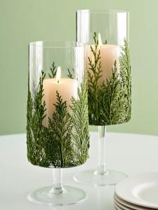 10 ιδέες διακόσμησης με χριστουγεννιάτικα κεριά!