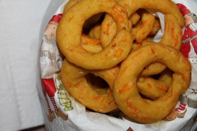 αλμυρά κουλουράκια καρότου