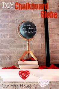 chalkboard-globe