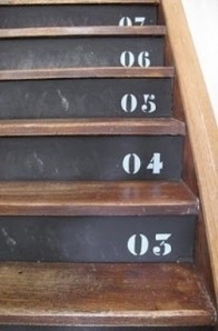 chalkboard-stairs