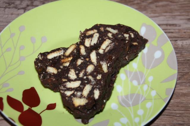 Κορμός σοκολάτας με μέλι (νηστίσιμος)