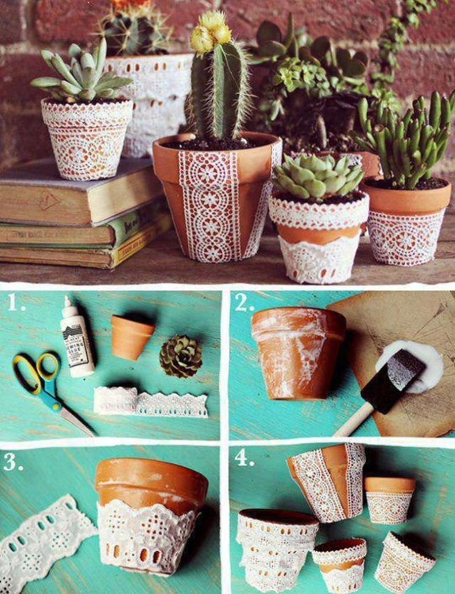 DIY-Pretty-Lace-Flower-Pot