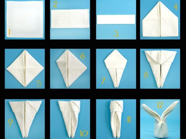 Πως να διπλώσουμε τις πετσέτες μας σε επίσημο τραπέζι